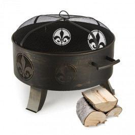 Blumfeldt Versailles, ohniště, nádoba na oheň, Ø 60 cm, ocel, černé
