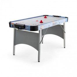 """OneConcept Polar Combat, stříbrný, air hokejový stůl, 6"""", 76 x 82 x 161 cm (ŠxVxH)"""