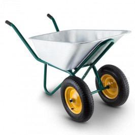 Waldbeck Heavyload, kolečko, 120 l, 320 kg, 2-kolečkový, ocel, zelený