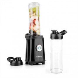 Klarstein Tuttifrutti, černý, mini mixér, 350 W, 800 ml, křížové čepele, bez BPA