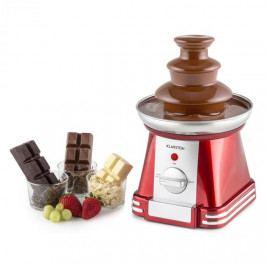 Klarstein Chocoloco, červená, fontána na čokoládu, 32 W, 350 g