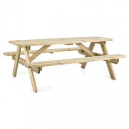 Blumfeldt Picknicker 180, piknikový stůl, zahradní set, 32 mm, borovicové dřevo