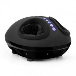 KLARFIT Feetmaster, černý, masážní přístroj na nohy, funkce ohřívání, 3 masážní programy