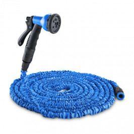 Waldbeck Flex 30, flexibilní zahradní hadice, 8 funkcí, 30 m modrá