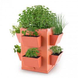 Waldbeck Herbie Hero, květináč, 8 misek na rostliny, PP, terakota