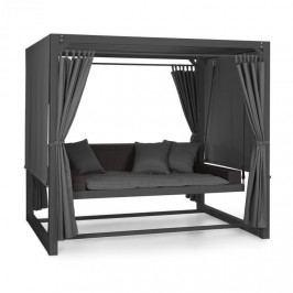 Blumfeldt Eremitage, luxusní zahradní houpačka, 236 x 180 x 210 cm, tmavě šedá/černá