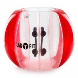 KLARFIT BUBBALL AR, BUBBLE BALL, PRO DOSPĚLÉ, 120X150 CM, EN71P, PVC, ČERVENÁ