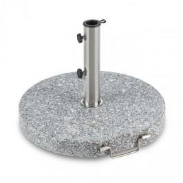 Blumfeldt Schirmherr 30RD, stojan na slunečník, 30 kg, kulatý podstavec, leštěný granit