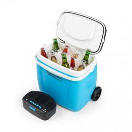 Auna Picknicker Trolley Music Cooler, chladicí box, kufříkový, 36 l, bt reproduktor, modrá barva