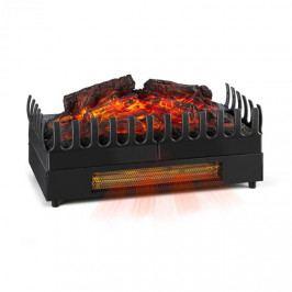 Klarstein Kamini FX elektrický krb, krbová vložka, 1000 / 2000W 2W LED, černá barva