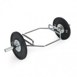 Capital Sports Beastbar Hex-Bar tyč na činky, deadliftbar, tricepsbar, pochromovaná
