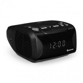 Auna Dreamee USB, CD rádiobudík, USB, CD, MP3, černá barva