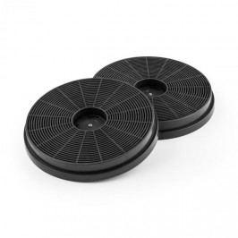 Klarstein Filtr s aktivním uhlím do digestoře, 2 kusy, 17,5 cm Ø