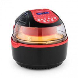 Klarstein VitAir Turbo Smart, horkovzdušná fritéza, 1400 W, 10 l, 20 programů, červená