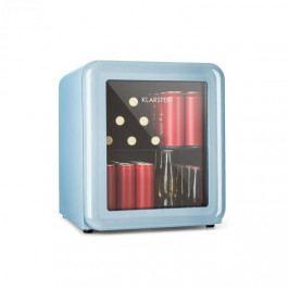 Klarstein PopLife, chladnička na nápoje, chladnička, 48 litrů, 0 - 10 °C, retro design, modrá