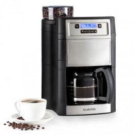 Klarstein Aromatica II, kávovar, integrovaný mlýnek, 1.25 l, stříbrný