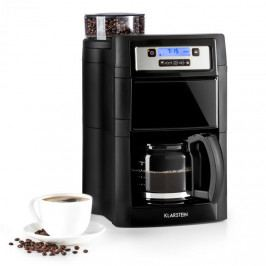Klarstein Aromatica II, kávovar, integrovaný mlýnek, 1.25 l, černý