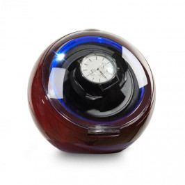 Klarstein St. Gallen Deux, pohyblivý stojan na hodinky, 1 hodinky, 4 režimy, modré LED světlo, palisandrový vzhled