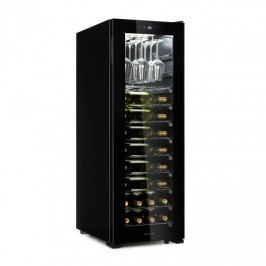Klarstein Bellevin 62, vinotéka, 56 lahví, 5 - 20 °C, třída energetické účinnosti A, černá
