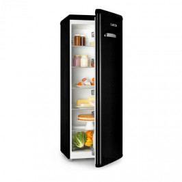 Klarstein Irene XL, chladnička, 242 l, retro design, 4 poličky, A+, černá