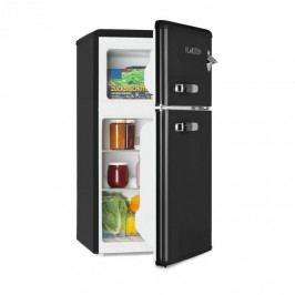Klarstein Irene, chladnička s mrazničkou, 61 l chladnička, 24 l mrazák, černá