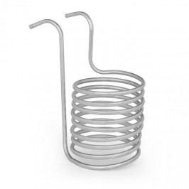 Klarstein Chiller 6, ponorný chladič, sladový chladič, Ø 20 cm, 9 závitů spirály, nerezová ocel 304