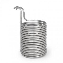 Klarstein Chiller 12, ponorný chladič, sladový chladič, Ø 21.5 cm, 18 závitů spirály, nerezová ocel 304