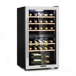 Klarstein Vinamour 29D, vinotéka, 2 zóny, 80 l, 29 lahví, 5 - 22 °C , display