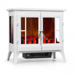 Klarstein Innsbruck, elektrický krb, 1000/2000 W, termostat, bílý