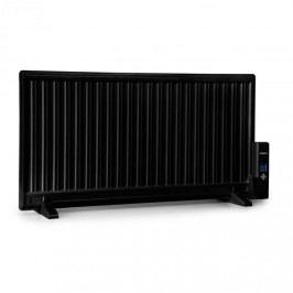 OneConcept Wallander, olejový radiátor, 1000 W, termostat, olejové vyhřívání, plochý design, černý