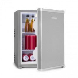 Klarstein Nagano S, mini lednička, 38 l, 0 dB, 0 - 8 °C, nehlučná, 54.5 cm, stříbrná