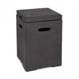 Blumfeldt Gas Garage, box na uskladnění nádoby s plynem do 9 kg, tmavě šedý