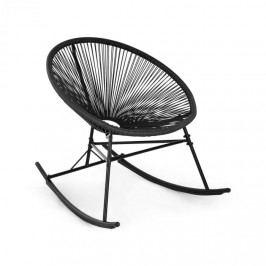 Blumfeldt Roquetas Chair, houpací křeslo, retro design, 4 mm pletivo, černé