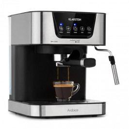 Klarstein Arabica, espresso kávovar, 1050W, 15 barů, 1,5l, dotykové ovládání, ušlechtilá ocel