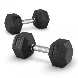 Capital Sports Hexbell 22,5 Dumbbell, pár jednoručních činek, 22,5 kg