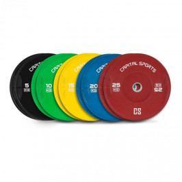 Capital Sports Nipton Full Set, kotoučové závaží, 5 párů, 5–25 kg