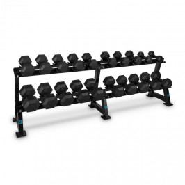 Capital Sports Dumbbell Rack Set, stojan na činky, sada, 20 míst, 10 x pár činek