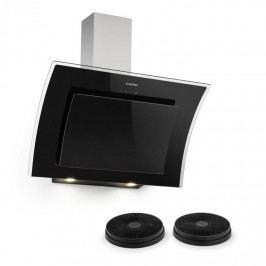 Klarstein Sabia 90, odsavač par, digestoř, 90 cm, 2 x filtr s aktivním uhlím, černý