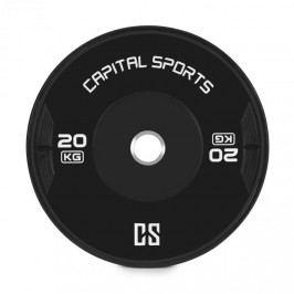 Capital Sports Elongate 20 Bumper Plate, kotouč, závaží, guma, 2x 20kg