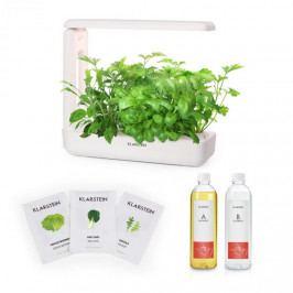 Klarstein GrowIt Cuisine Starter Kit Salad, 10 sazenic, 25 W LED, 2 l, Salad Seeds, živný roztok
