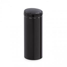 Klarstein Cleanton, odpadkový koš, kulatý, senzor, objem 50 litrů, na odpadové sáčky, ABS, černá
