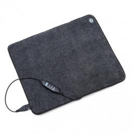 OneConcept Magic Carpet DLX, vyhřívací podložka, 60 x 70 cm, 190 W, 4 teploty, časovač, antracitová