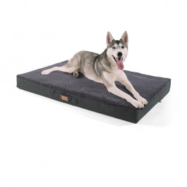Brunolie Balu, pelíšek pro psa, polštář pro psa, možnost praní, ortopedický, protiskluzový, prodyšná paměťová pěna, velikost XL (120 x 10 x 72 cm)