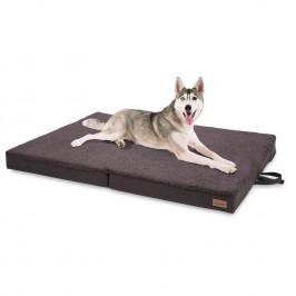 Brunolie Paco, pelíšek pro psa, psí podložka, pratelný, ortopedický, protiskluzový, prodyšný, sklopné, paměťová pěna, velikost XL (120 x 10 x 85 cm)