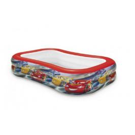 Teddies Auta / Cars 58380 Bazén dětský nafukovací 103x69x22cm