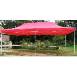 Tradgard DELUXE 41507 Zahradní párty stan  nůžkový - 3 x 6 m červená