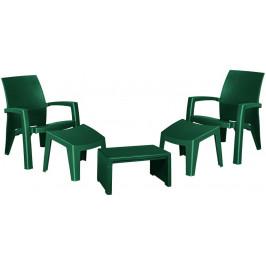 Allibert 41476 Zahradní plastový set LAGO MAXI - zelený