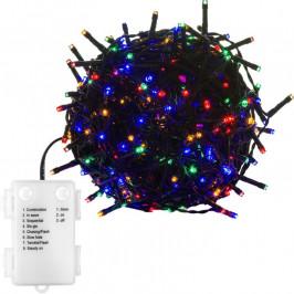 VOLTRONIC® 67678 Vánoční LED osvětlení - 5 m, 50 LED, barevné, na baterie
