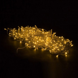 VOLTRONIC® 67672 Vánoční LED osvětlení - 5 m, 50 LED, teple bílé, na baterie