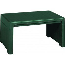 Tradgard 41404 Zahradní plastový stolek LAGO zelený